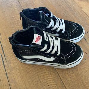 Toddler black vans